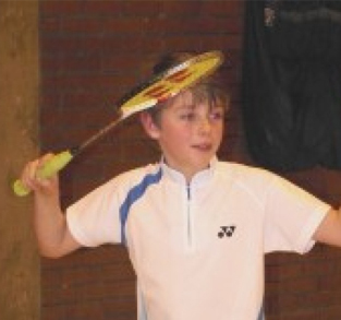 Badminton ace Tom aims to be a smash-hit with the help from FWP