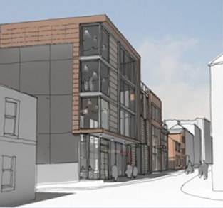 Preston's printworks office plans im-press