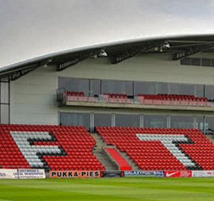 Fleetwood Town Football Club, Parkside Stand