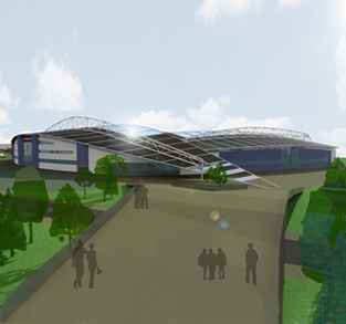 New Stadium Design for Scunthorpe United