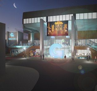 Striking New Design for Preson's Guild Hall