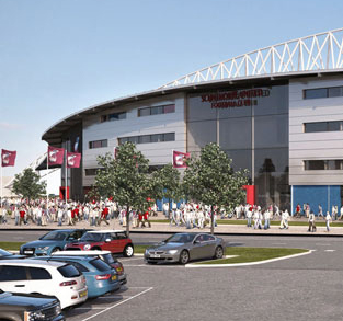 The Iron's New £25m Stadium