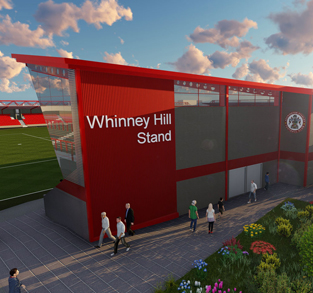 New stand for Accrington Stanley